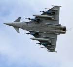 Eurofighter of the type sold to Saudi Arabia