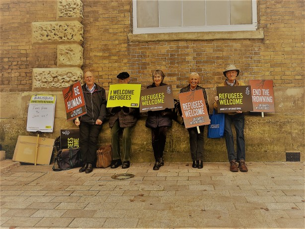 Protest guildhall